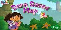 Даша путешественница спасает карту | Dora Saves Map