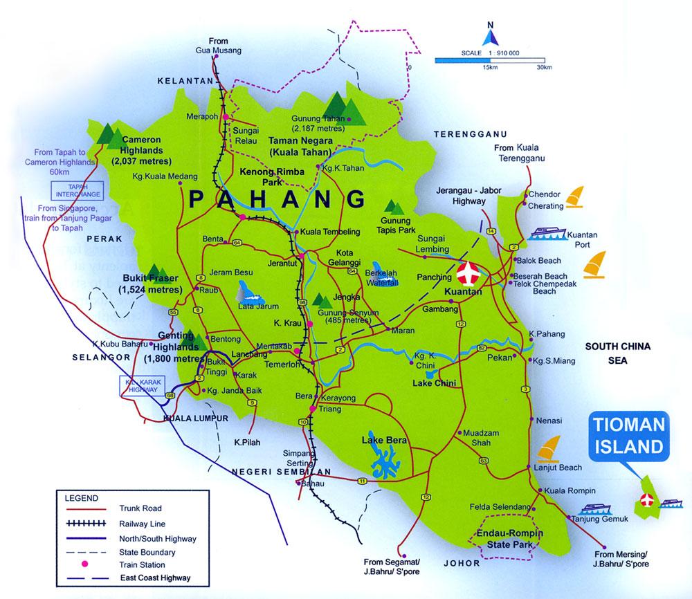 Peta Kuantan Pahang