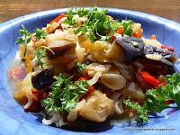 Articole culinare : Tocana cu vinete (care se poate conserva)