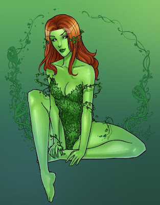 poison ivy comic book character. poison ivy comic costume.
