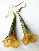 Elegant Art Nouveau Earings