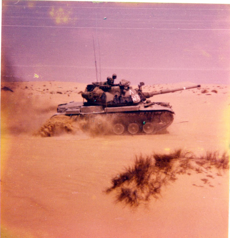 I am driving the magach-Sinai