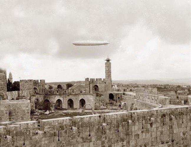 Jerusalem during W.W 1