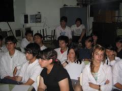 Charla para Alumnos de la Escuela Monseñor Chimento de La Plata