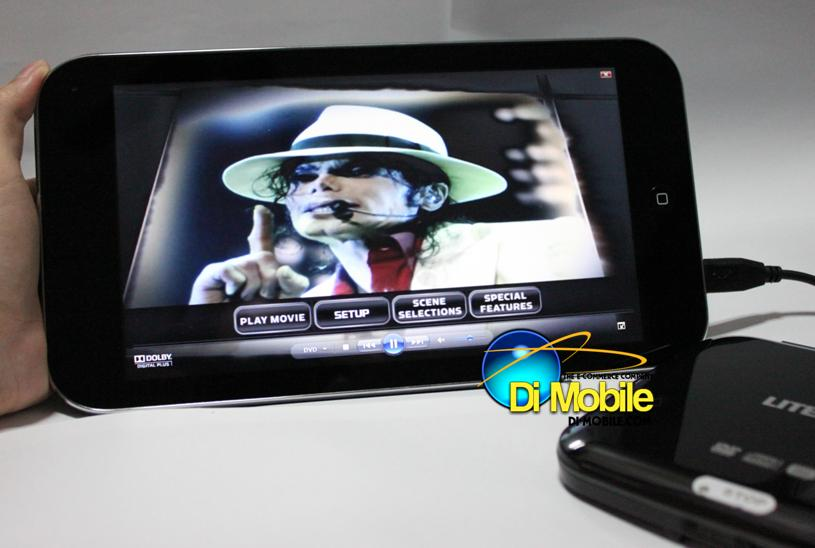 iView Touch D13 Windows 7 Tablet Intel Atom N455 1.66GHz Capacitive