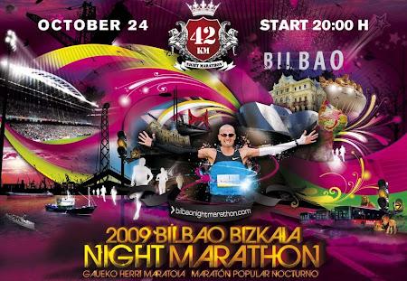 Maratón Nocturno Bilbao