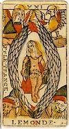 le monde tarot signification interpretation
