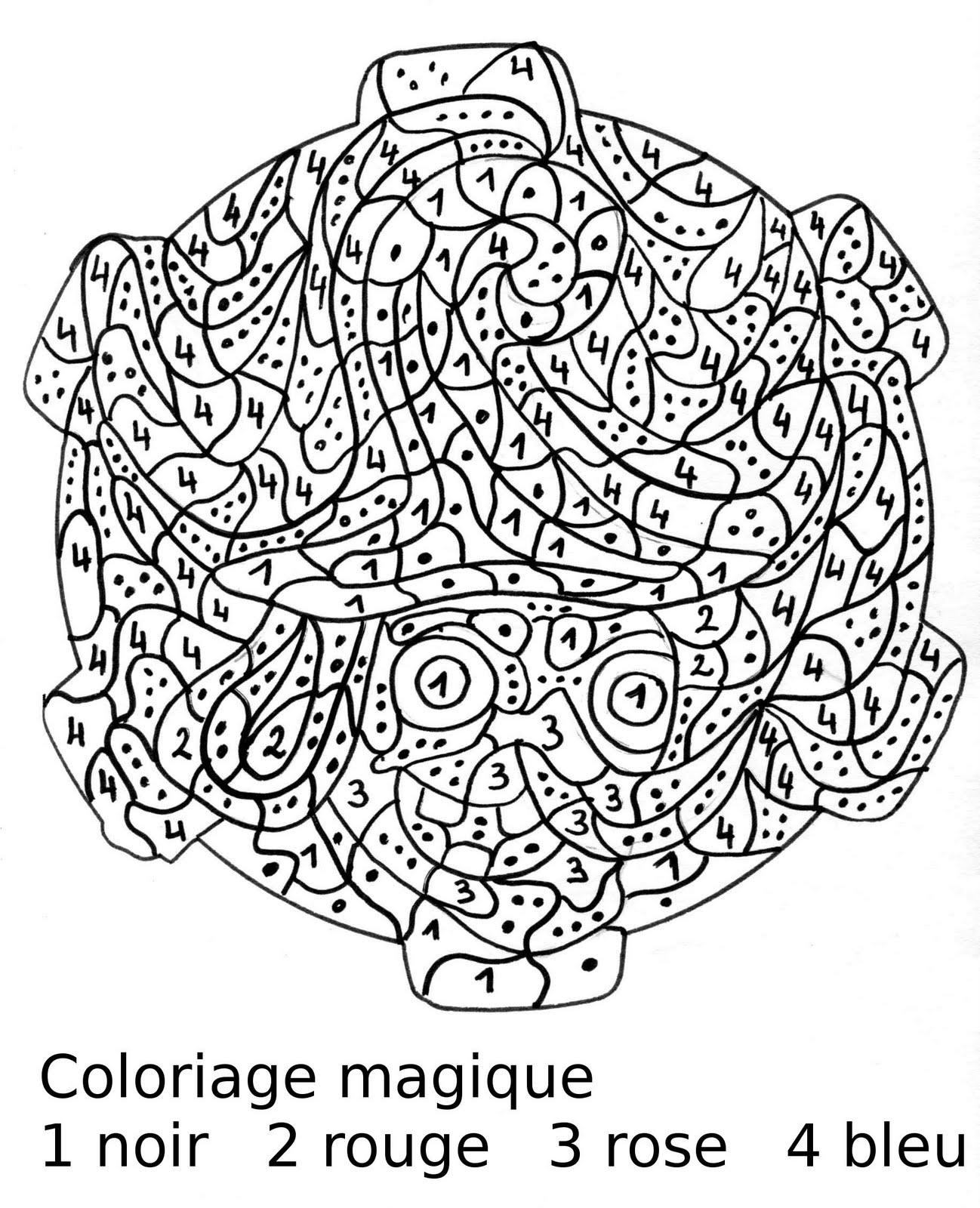 Maternelle coloriage magique portrait de sorci re au chapeau - Jeux de sorciere potion magique gratuit ...