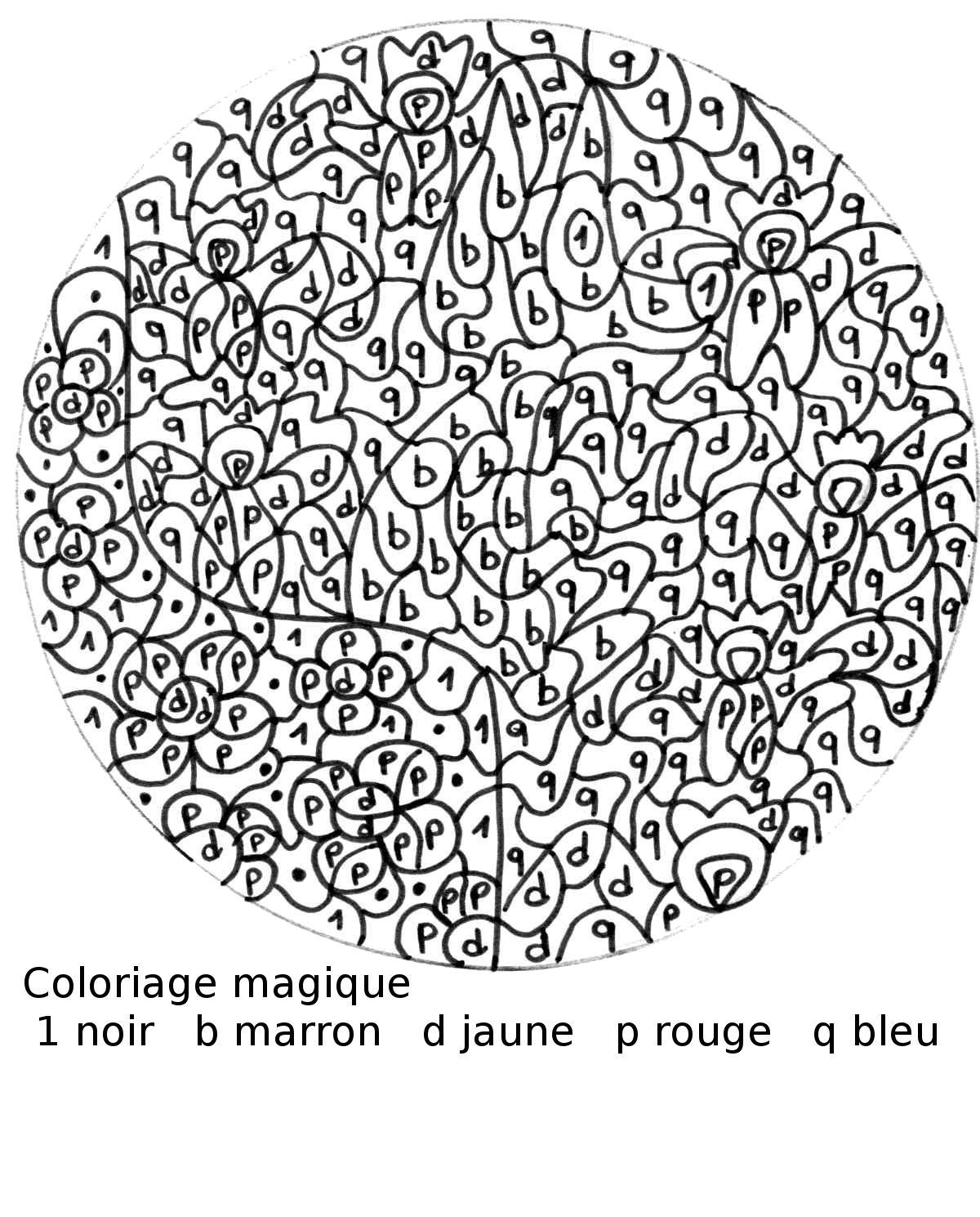 Maternelle coloriage magique jeune loup assis - Coloriage magique loup ...