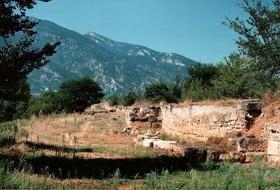 El jard n de psique dion la ciudad sagrada de macedonia for Jardines del olimpo