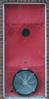 green builder Blower Door Test