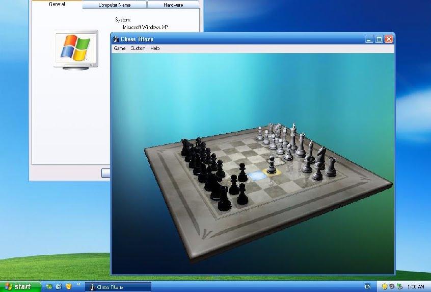 free download windows 7 chess titans game