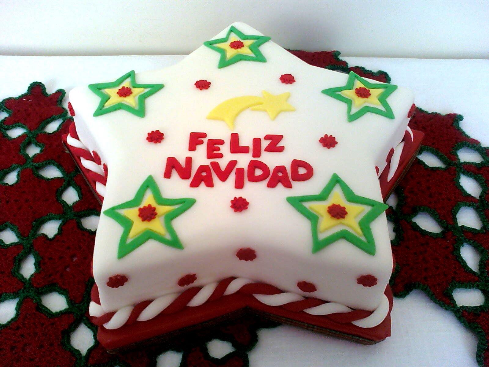 Torta Navideña en forma de estrella!
