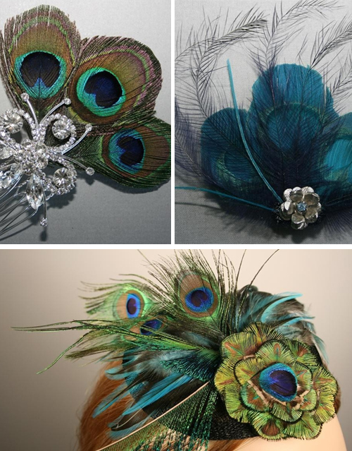 Trends we love peacock feathers