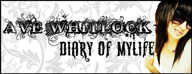 ave whitlock - diary of mylife