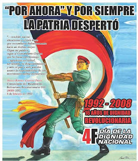 4 de febrero 1992 rebelion civico militar Hugo Chavez 4f 4 de febrero resumen