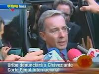 Uribe Alvaro corte Interamericana internacional Chavez