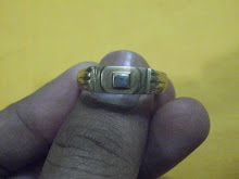 Cincin Tembaga Syiling Pasak Besi Kursani ( tempahan khas)