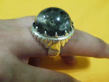 Cincin Batu Kecubung Unik