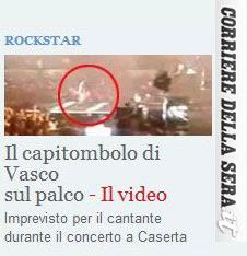 La caduta di Vasco a Caserta