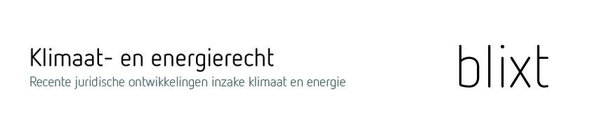 Blixt - Klimaat- en energierecht