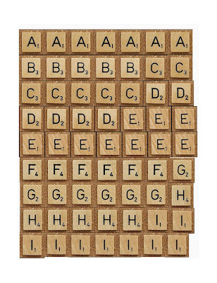 Ridiculous image in scrabble tiles printable