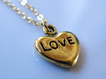 Gold heart love nugget. SPECIAL: $10