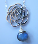 Mysterious Rose necklace
