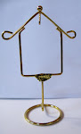 One of a kind vintage bird cage stand for crafting!!