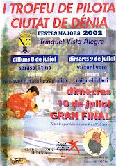 I TROFEU CIUTAT DE DENIA 2002