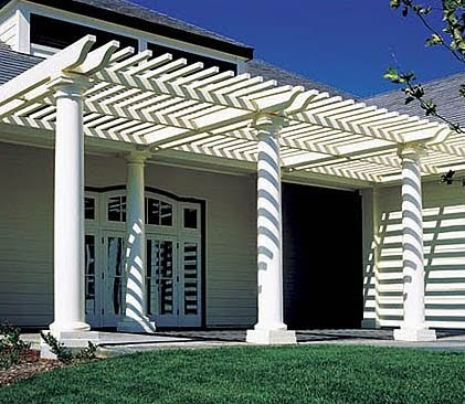Architectural columns ideas for porches gardens and for Decorative structural columns