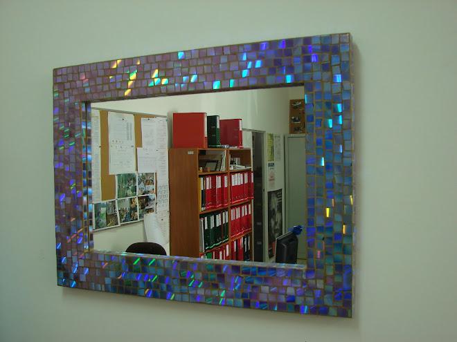 espelho feito de dvd´s