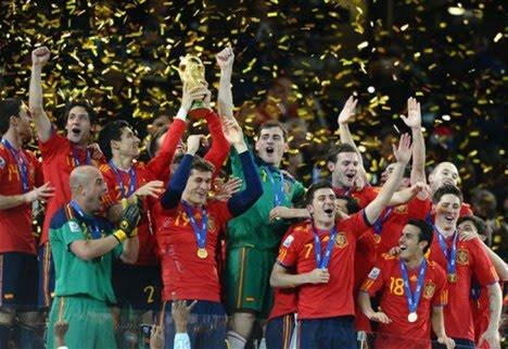España nuevo Campeon Mundial!