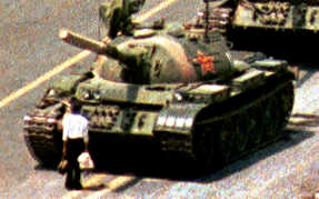 Tank Man at the Barricades