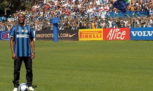 Inter Milan new signing Samuel Eto'o