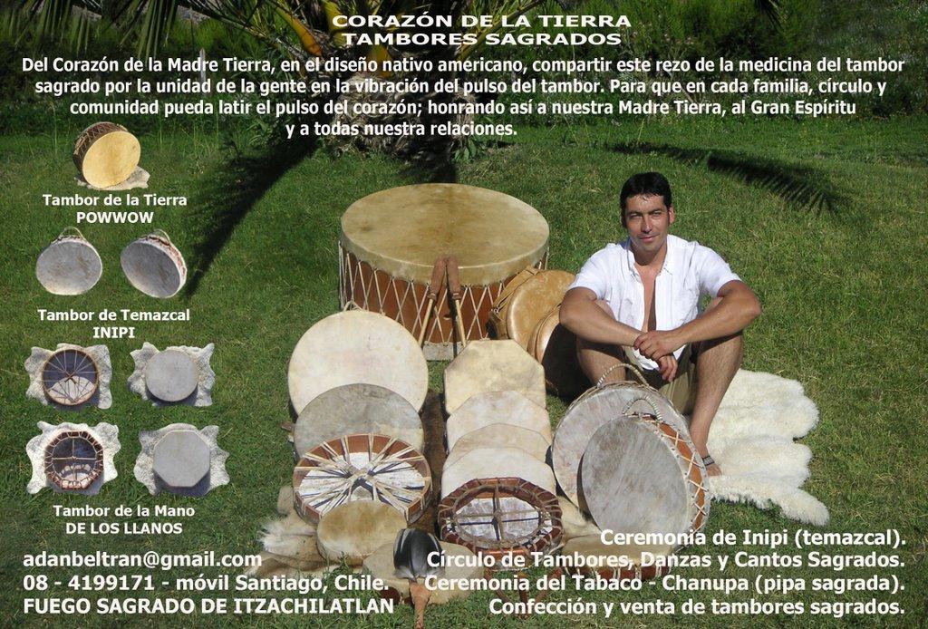 """Tambores Ceremoniales """"Corazón de la Tierra"""""""