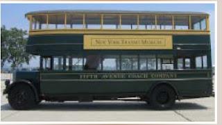 Autobús número 1263, en servicio entre 1931 y 1953 en la Fifth Avenue Coach Company