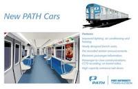 Nuevos vagones del PATH