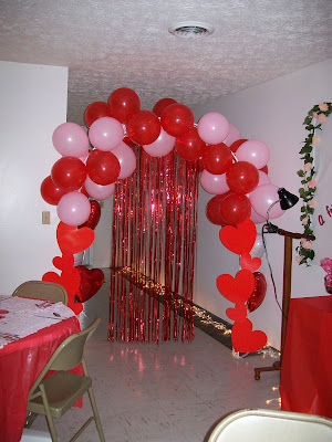 Blessed Beyond Measure: Valentine's Banquet-Decorations