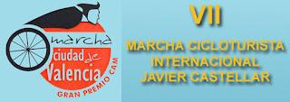 Marchas cicloturistas en valencia