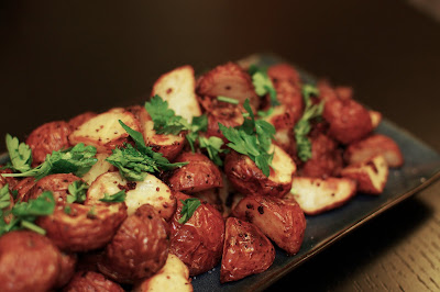 Ina Garten's Mustard Roasted Potatoes | Beantown Baker