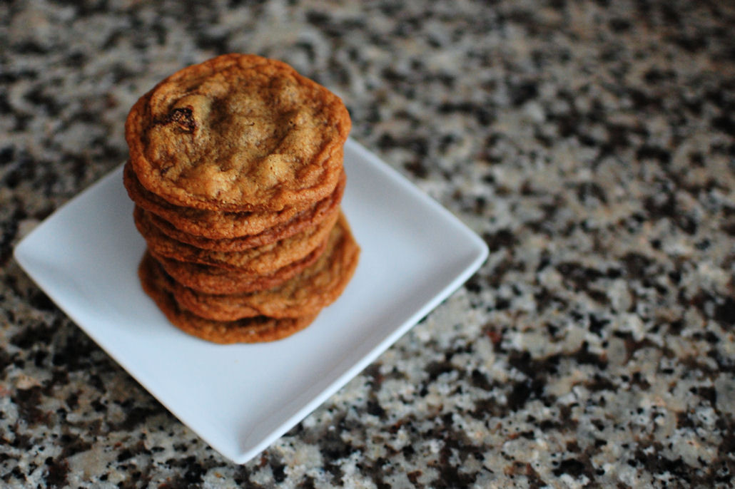 Chewy Molasses Chocolate Chip Cookies | Beantown Baker