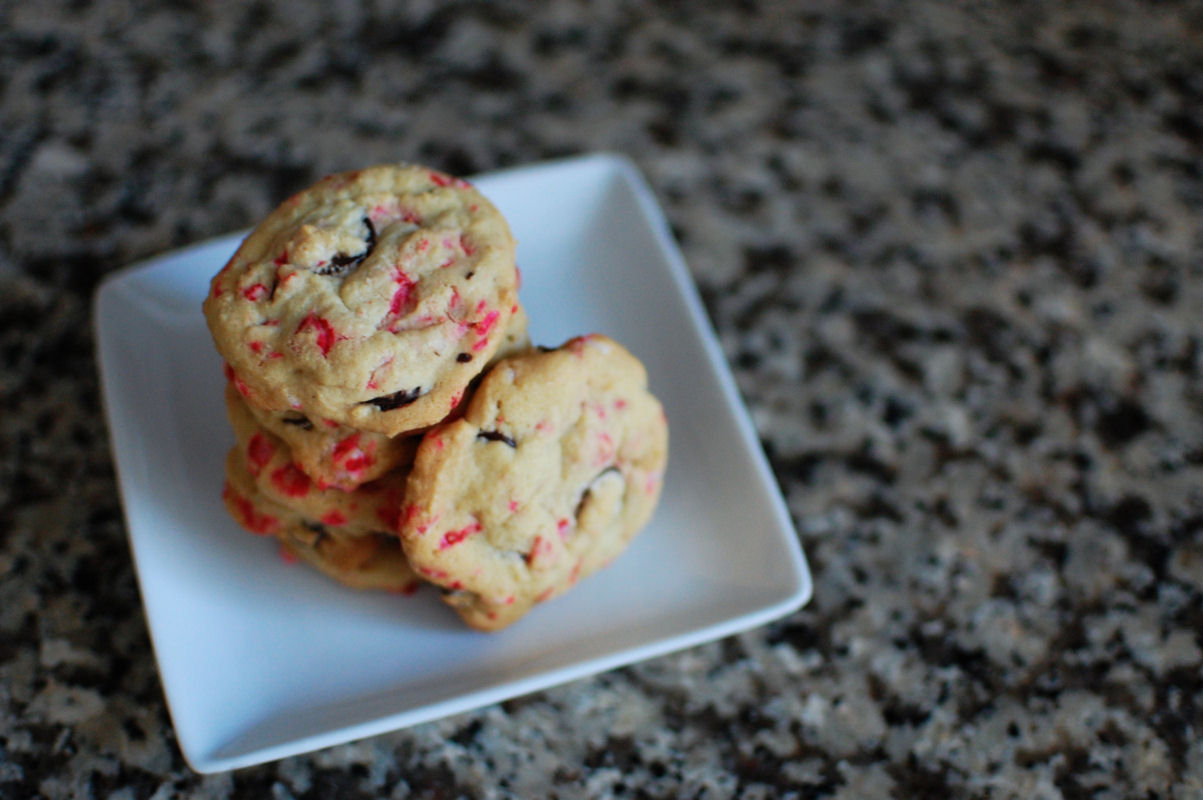Chocolate Chip Peppermint Crunch Cookies Recipe — Dishmaps