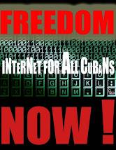 Libertad para acceder a Internet en Cuba.