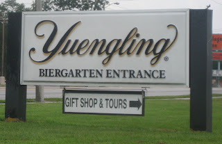 Yuengling Brewery Entrance
