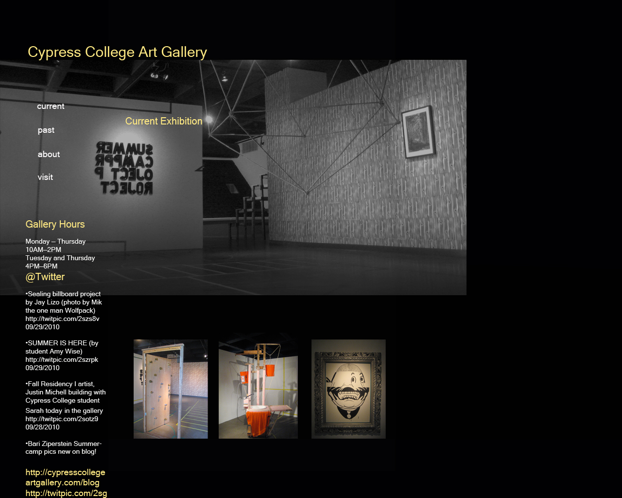 The State Of Honesty - Art gallery website templates