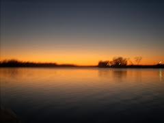 PICKWICK LAKE SUNSET