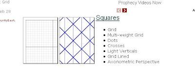 pilih square untuk bikin milimeter block