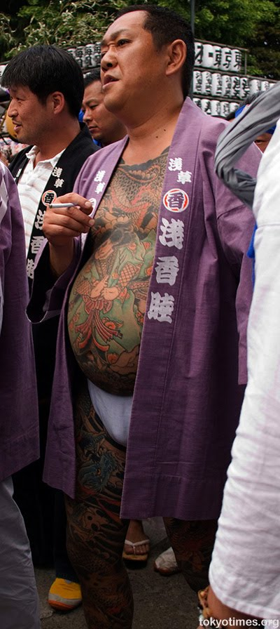 Yakuza tattoos are frequently positioned in system spots which are
