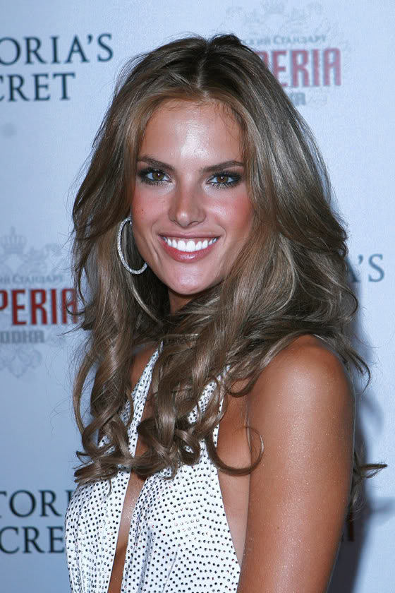 alessandra ambrosio hair color. alessandra ambrosio hair color